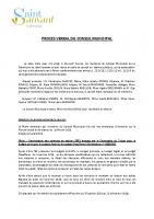 Compte-rendu Conseil Municipal du 11 mars 2020