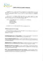 Compte-rendu du Conseil Municipal du 7 décembre 2020